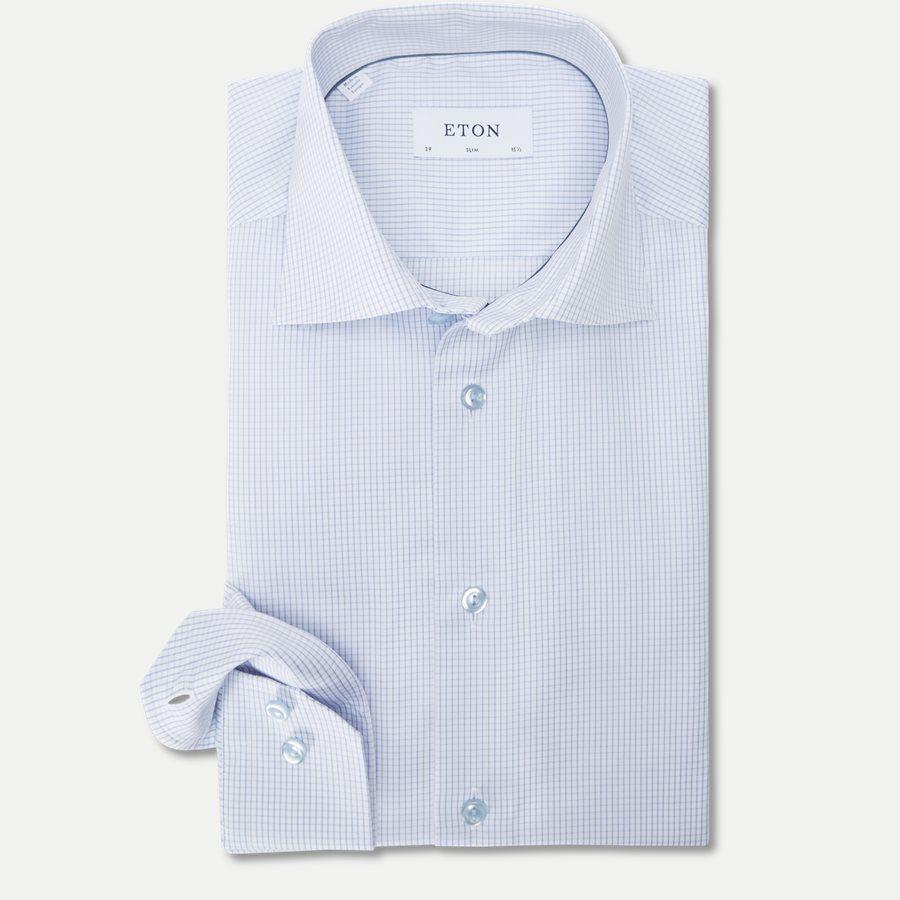 3070 79339 - 3070 Signature Twill Skjorte - Skjorter - L BLÅ - 1